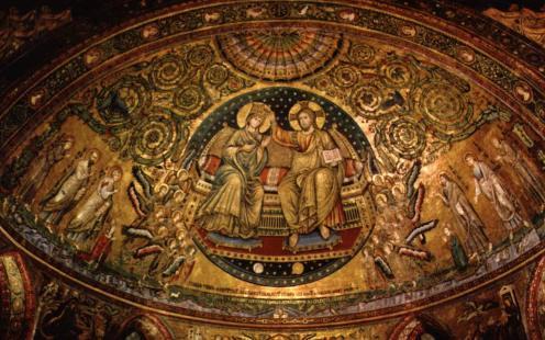 Maria maggiore - apsismosaikken